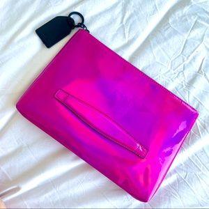 Pink neon bag
